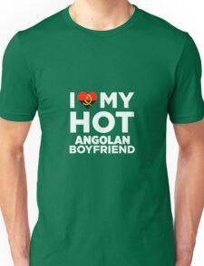 I Love My Hot Angolan Boyfriend Unisex T-Shirt