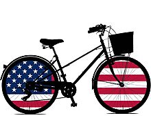 All American Bicycle Photographic Print