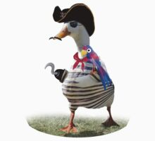Pirate Captain Duck with Hook Hand by Gravityx9