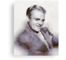 James Cagney, Vintage Hollywood Actor Canvas Print