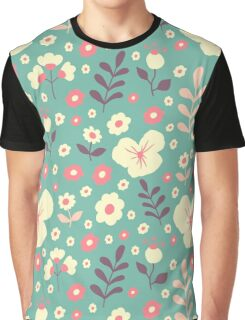 Flower spring cute pattern Graphic T-Shirt