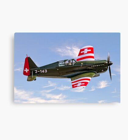 EFW/Dornier D-3801 J-143 HB-RCF Canvas Print