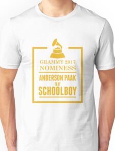 Anderson Paak Feat Schoolboy Unisex T-Shirt