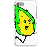 cartoon little flame spirit iPhone Case/Skin