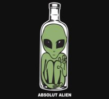 Absolut Alien by David Sanders