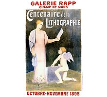 French Vintage Exhibit Poster Restored Photographic Print