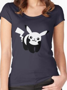 Hey You Pandachu Women's Fitted Scoop T-Shirt