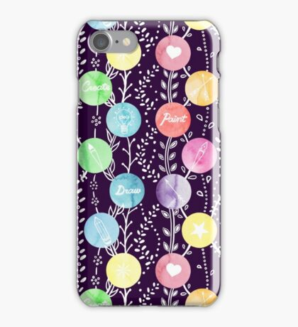 Paint Draw Create iPhone Case/Skin