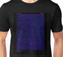 USGS TOPO Map California CA Sportshaven 300634 1973 24000 geo Inverted Unisex T-Shirt