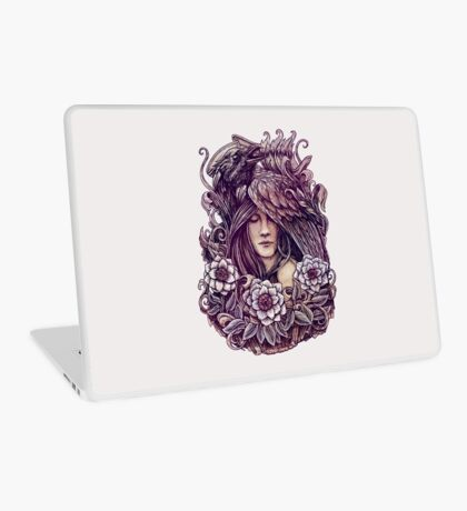 Crow Laptop Skin