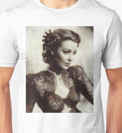 Loretta Young, Vintage Hollywood Actress Unisex T-Shirt