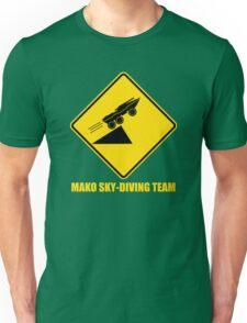 Mass effect Mako skydiving team Unisex T-Shirt