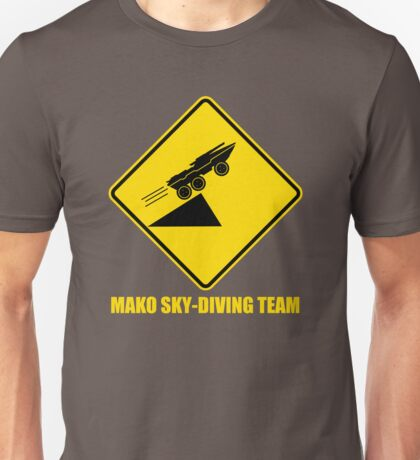 Mass effect Mako skydiving team Unisex T-Shirt