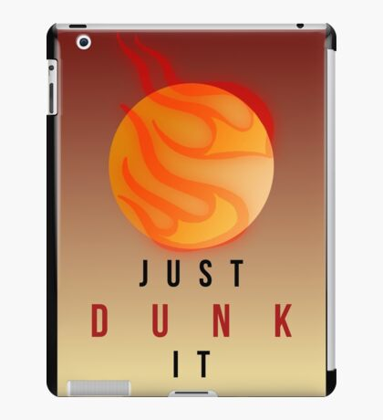 JUST DUNK IT // LEAGUE OF LEGENDS iPad Case/Skin