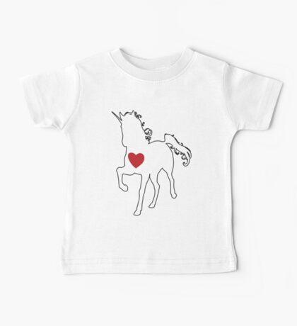 Unicorn Love! Baby Tee