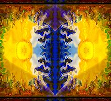 Love and Loss Abstract Healing Artwork by owfotografik