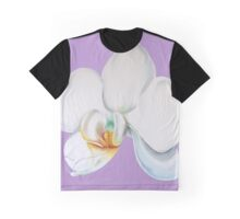 Orchid on Lilac Graphic T-Shirt