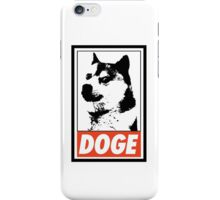 OBEY DOGE iPhone Case/Skin
