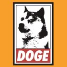 OBEY DOGE by MrTreefingers