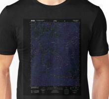 USGS TOPO Map California CA Cecilville 20120323 TM geo Inverted Unisex T-Shirt