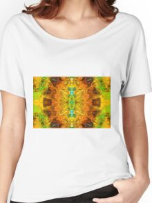 Energy Experiences Abstract Healing Artwork  Women's Relaxed Fit T-Shirt