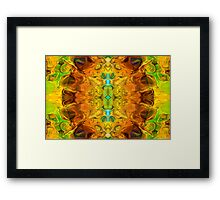 Energy Experiences Abstract Healing Artwork  Framed Print