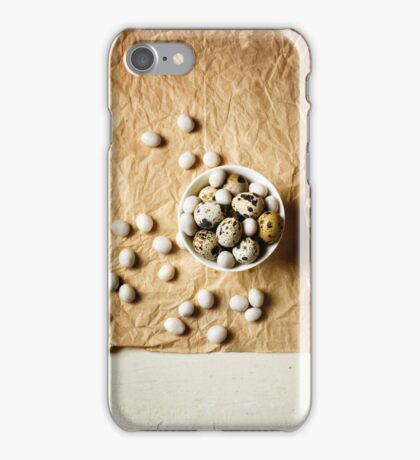 Food easter background  iPhone Case/Skin