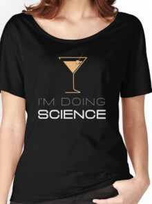 Bartender Cocktail Mixology Science Bar Lounge Women's Relaxed Fit T-Shirt