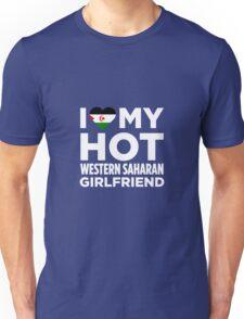 I Love My Western Sahara Girlfriend Unisex T-Shirt