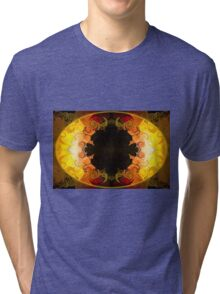 Undecided Bliss Abstract Healing Artwork  Tri-blend T-Shirt