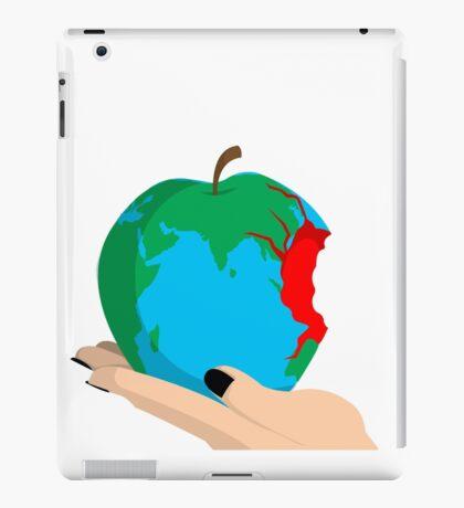 Humanity bites. iPad Case/Skin