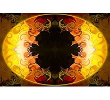 Undecided Bliss Abstract Healing Artwork  Photographic Print