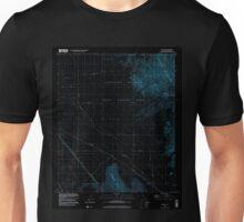 USGS TOPO Map California CA Tortuga 102042 1998 24000 geo Inverted Unisex T-Shirt