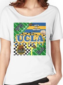 UCLA COLLAGE Women's Relaxed Fit T-Shirt