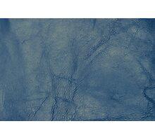 Leather texture closeup Photographic Print
