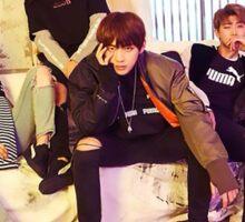 BTS~S,J,V,R~P Sticker