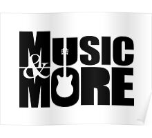 Music & More. Poster