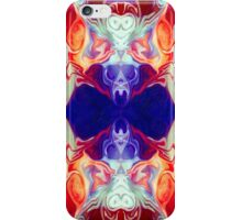 Facing The Unknown Abstract Healing Artwork  iPhone Case/Skin