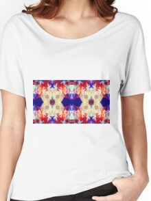 Facing The Unknown Abstract Healing Artwork  Women's Relaxed Fit T-Shirt