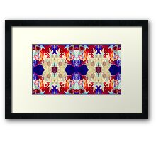 Facing The Unknown Abstract Healing Artwork  Framed Print
