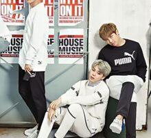 BTS P Sticker