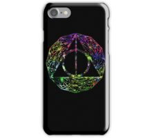 The black side of the deathly hallows iPhone Case/Skin