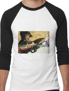 ~freedom tastes like~ (snippet) Men's Baseball ¾ T-Shirt
