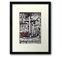 Years eaten by the rats Framed Print