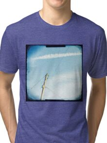 Crossed wires Tri-blend T-Shirt