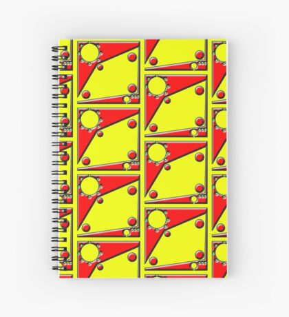 .Pattern B-2. .Scaled 11% - Offset Tiling. Spiral Notebook