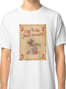 Alice in Wonderland, The Queen Of Hearts Classic T-Shirt