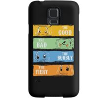 The Good,The Bad,The Bubbly,The Fiery Samsung Galaxy Case/Skin