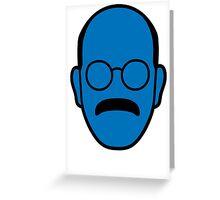 Arrested Development Tobias Blue Man Greeting Card