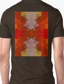 Circles Making Love Abstract Circular Artwork  T-Shirt